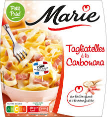 Tagliatelle carbonara, Marie (330 g)