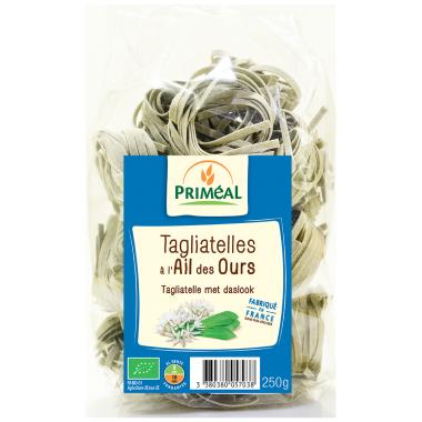 Tagliatelles à l'ail des ours BIO, Priméal (250 g)