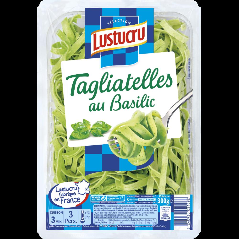 Tagliatelles au basilic, Lustrucru (300 g)