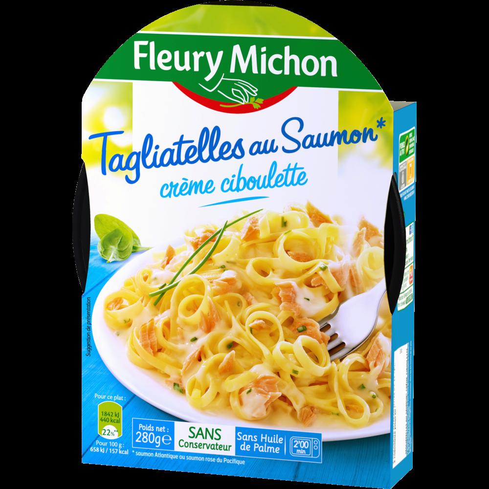 Tagliatelles saumon crème fraîche, Fleury Michon (280 g)
