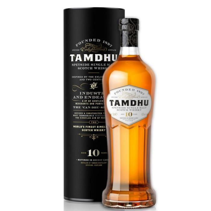 Whisky Tamdhu 10 ans d'âge (70 cl)