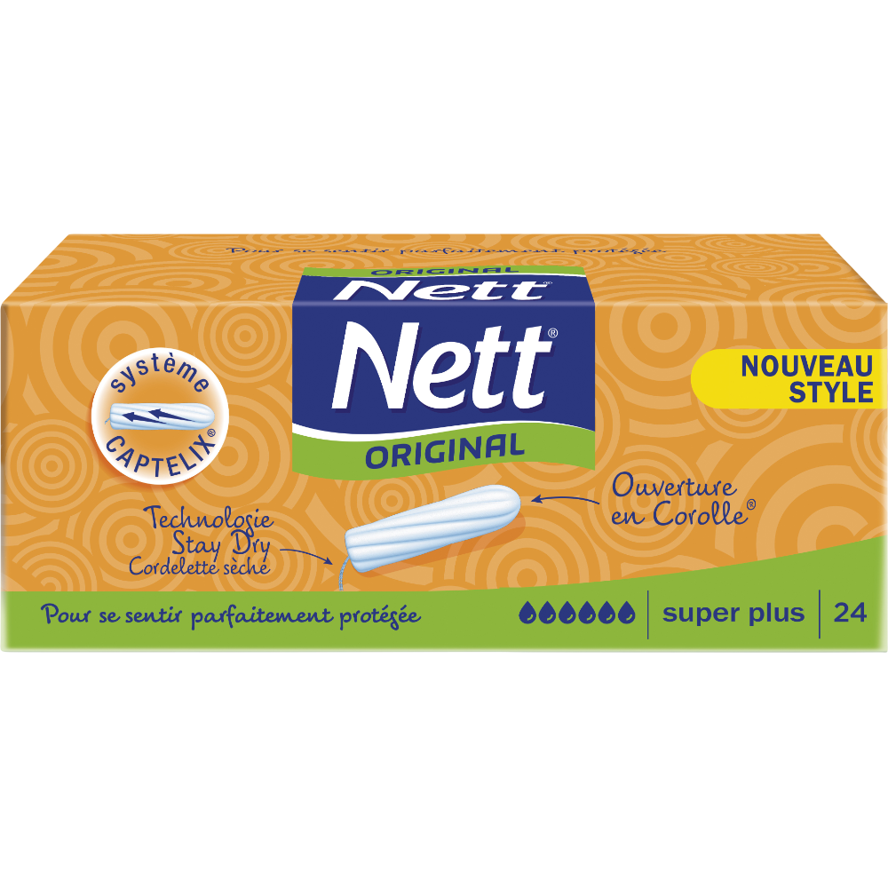 Tampons Super plus, Nett Original (x 24)