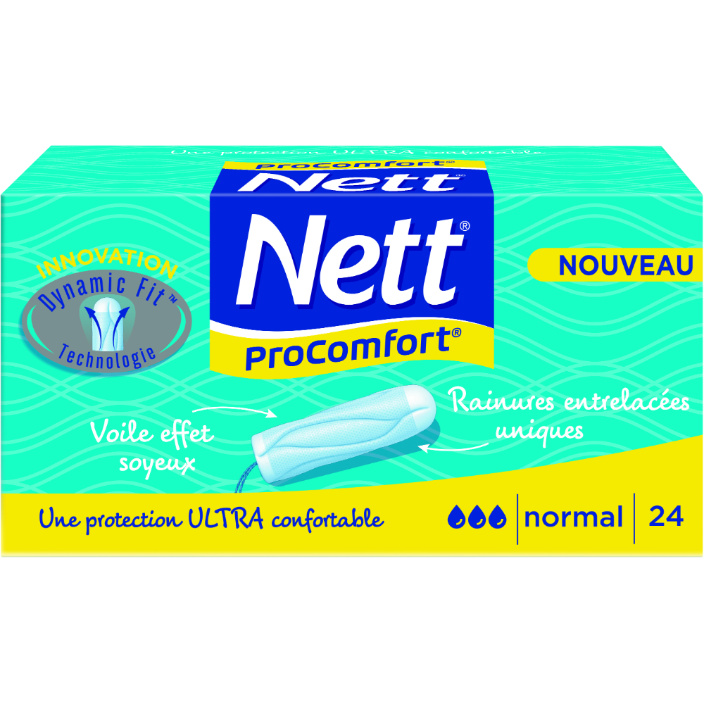 Tampons ProConfort normal, Nett (x 24)