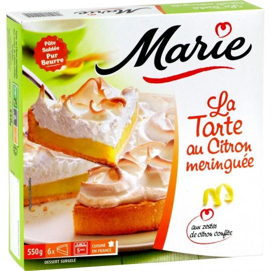 Tarte Citron Meringuée, Marie surgelé (550 g)