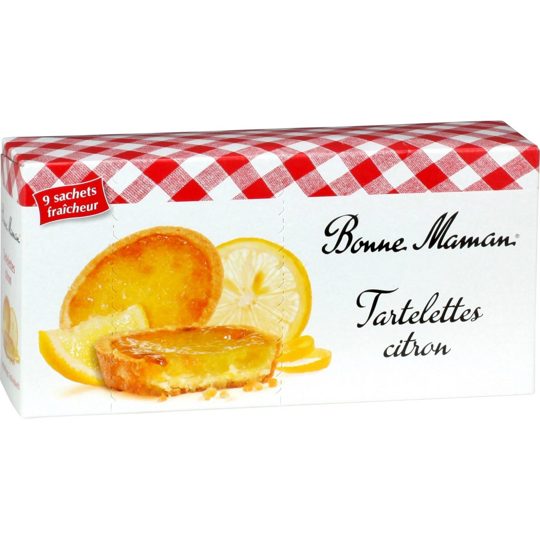 Tartelettes au citron, Bonne Maman (125 g)