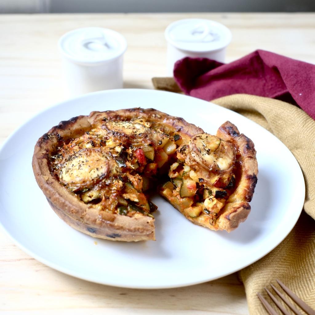 Tartelette Fêta, Courgette, Poivron, Tomate & Herbes de Provence, Rachel's cake