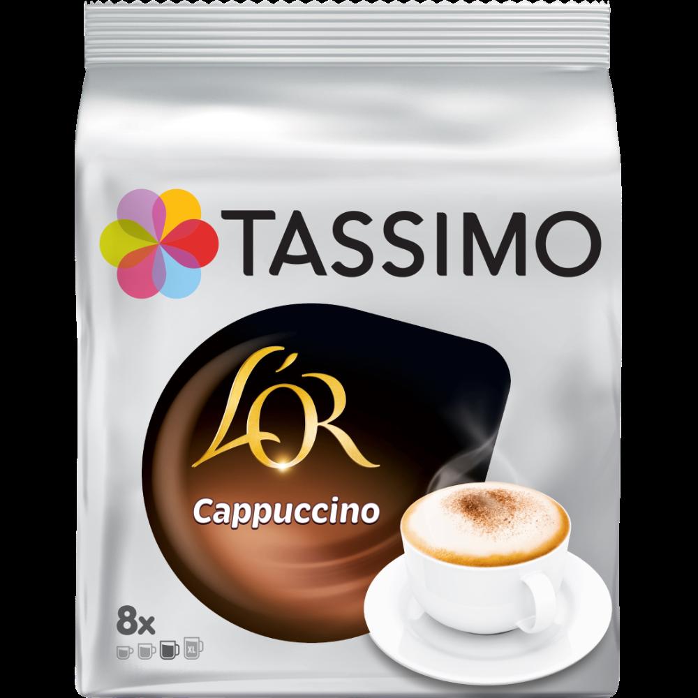 Cappuccino dosette, L'or Tassimo (x 8)
