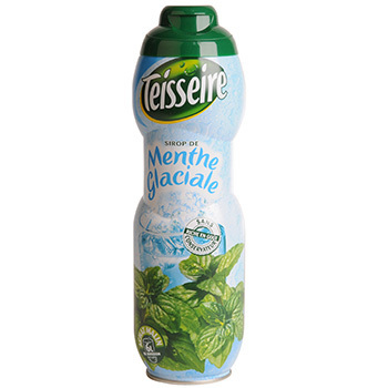 Sirop de menthe glaciale, Teisseire (60 cl)