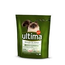 Croquettes pour chat boules de poils, Ultima (400 g)