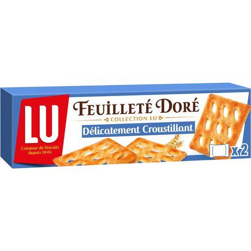 Feuilleté doré, Lu (125 g)