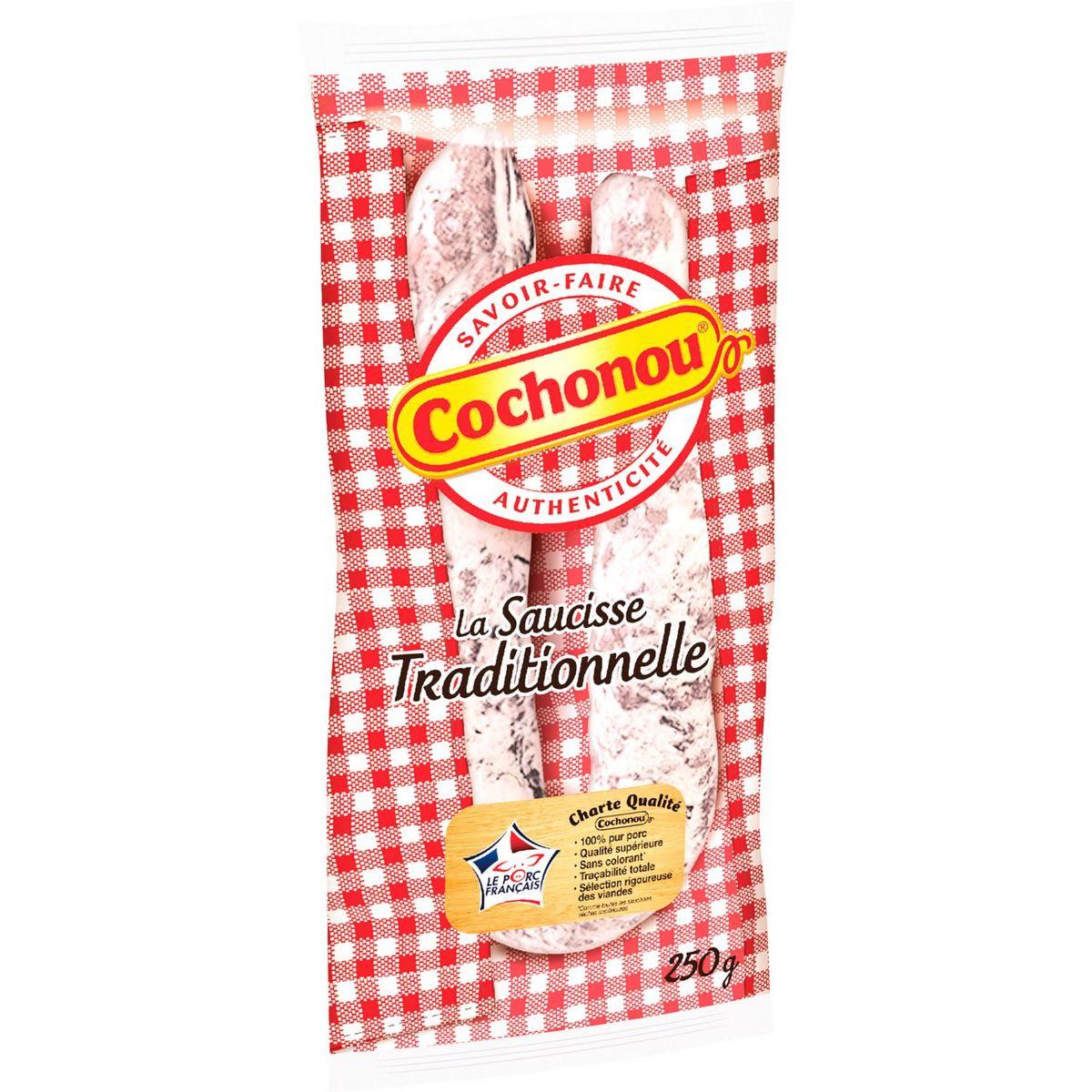 Saucisse sèche courbe, Cochonou (250 g)