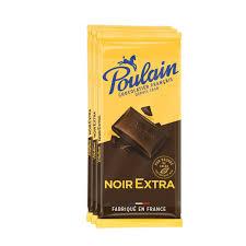 Chocolat noir extra, Poulain (3 x 100 g)