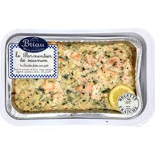Parmentier de saumon, Maison Briau (750 g)