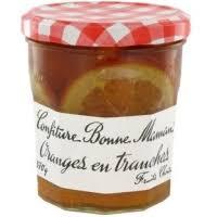 Confiture d'oranges en tranches, Bonne Maman (370 g)