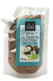 Sève de fleur de cocotier BIO, Ibo (250 g)