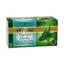 Thé Vert Menthe, Twinings (25 sachets)