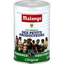 Cafe moulu des petits producteurs, Malongo (250 g)