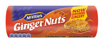 Biscuit Ginger Nuts, Mc Vitie's (250 g)