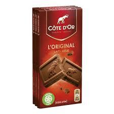 Chocolat au lait l'Original, Côte d'Or (3 x 100 g)