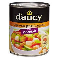 Legumes pour couscous, D'aucy (800 g)