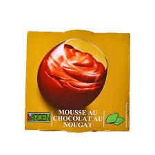 Mousse au chocolat au nougat, Yarden (2 x 74 g)