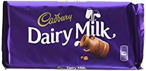 Dairy Milk au chocolat, Cadbury (200 g)