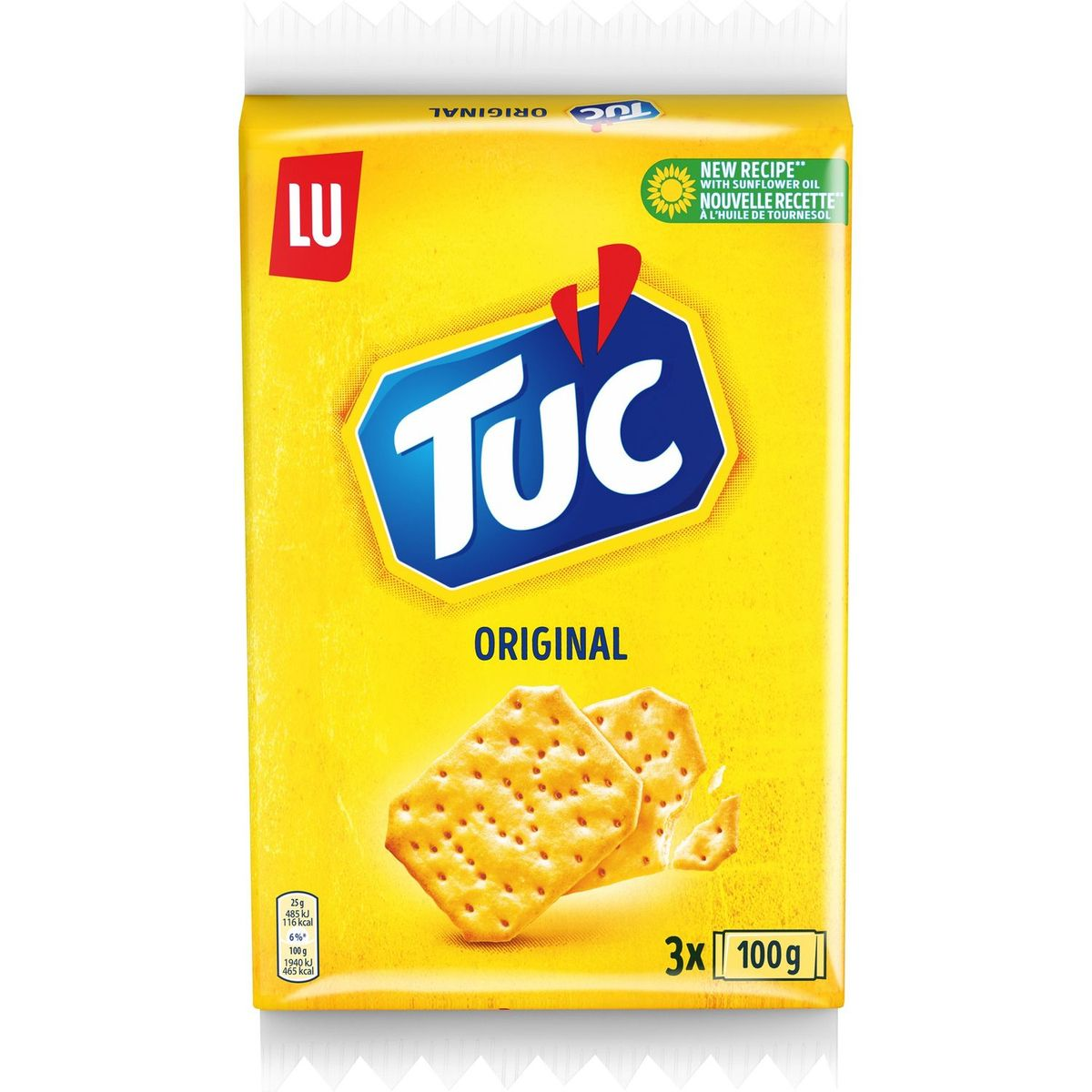 Crackers Tuc Original (3 x 100 g)