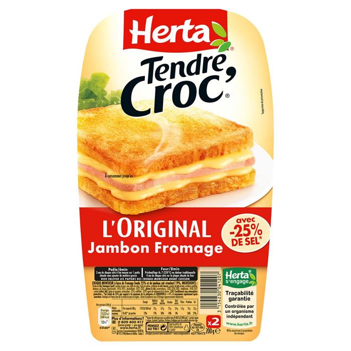 Croque Monsieur Tendre Croc', Herta (x 2, 200 g)