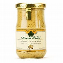 Moutarde aux noix, Fallot (105 g)
