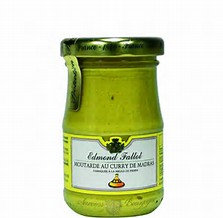 Moutarde au curry de Madras, Fallot (105 g)