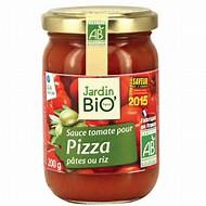 Sauce tomate pour pizza, pâtes ou riz BIO, Jardin Bio (200 g)