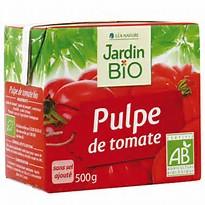 Pulpe de tomates BIO, Jardin Bio (500 g)