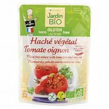 Haché végétal tomates et oignons sans gluten BIO, Jardin Bio (250 g)