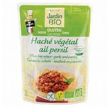 Haché végétal ail et persil sans gluten BIO, Jardin Bio (250 g)
