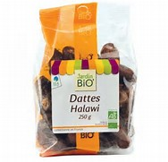 Dattes séchées Halawi BIO, Jardin Bio (250 g)