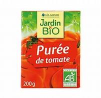 Purée de tomates BIO, Jardin Bio (200 g)