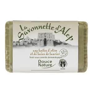 Savon d'Alep aux huiles d'olive et de baies de laurier, Douce Nature (100 g)