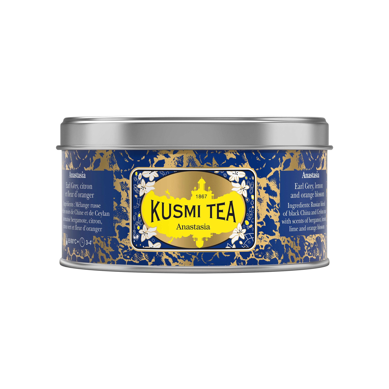 Thé Anastasia boîte métal, Kusmi Tea (125 g)