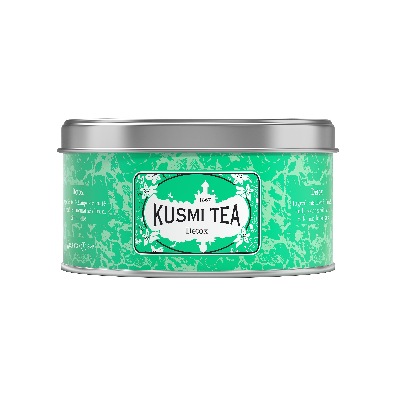 Thé Detox boîte métal, Kusmi Tea (125 g)
