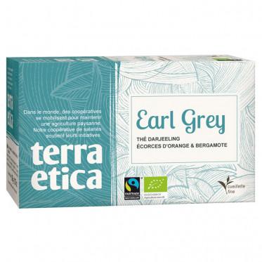 Thé earl grey BIO, Terra Etica (x 20 infusettes, 36 g)