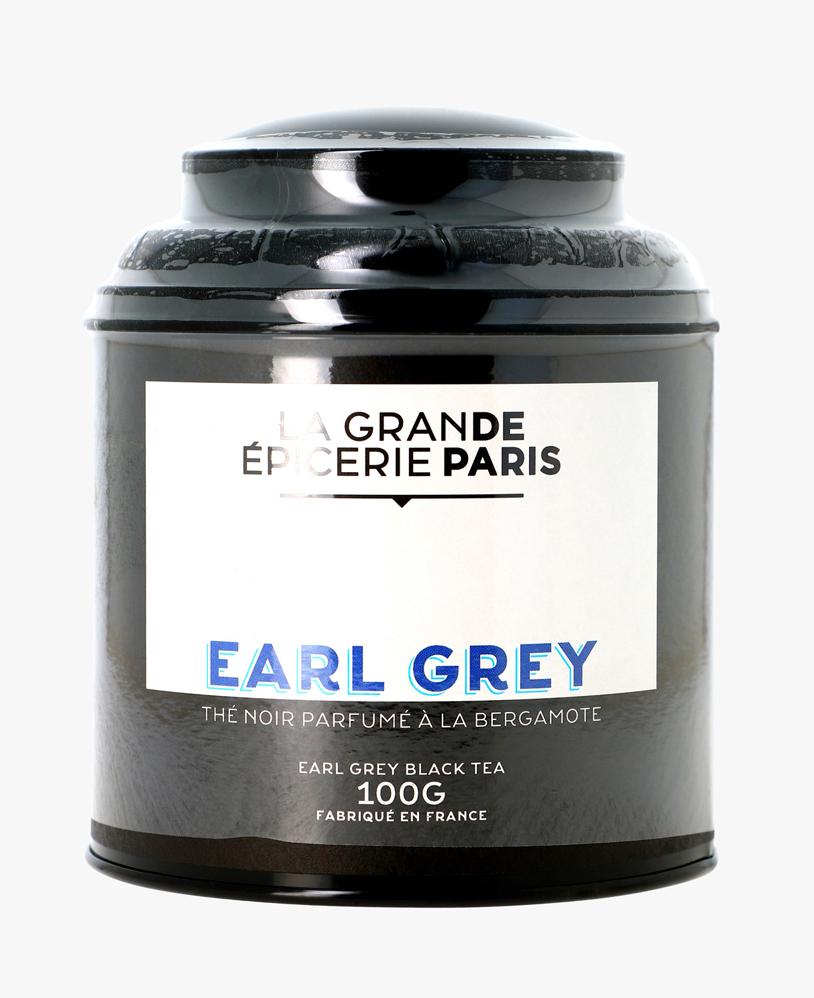 Thé Earl Grey, thé noir à la bergamote, La Grande Epicerie de Paris (100 g)