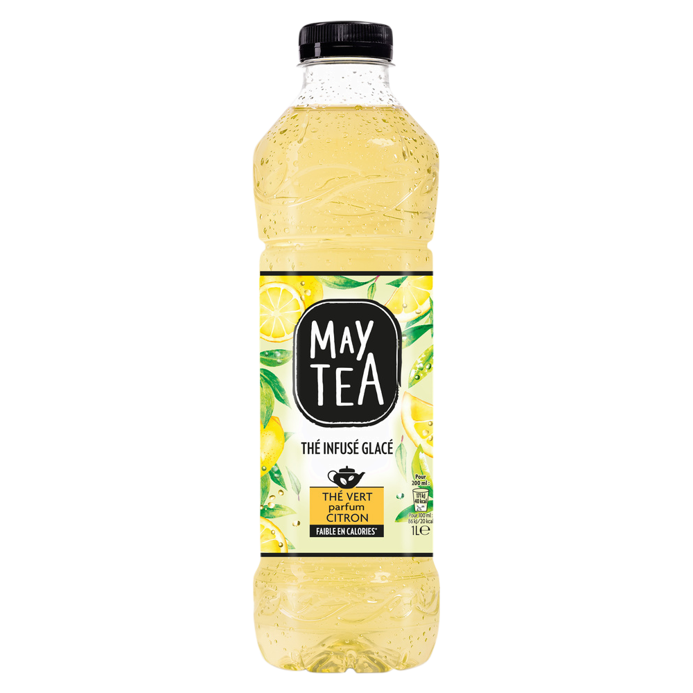May Tea thé vert parfum citron (1 L)