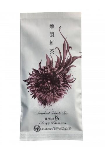 Thé noir fumé au cerisier japonais Sakura (50 g)