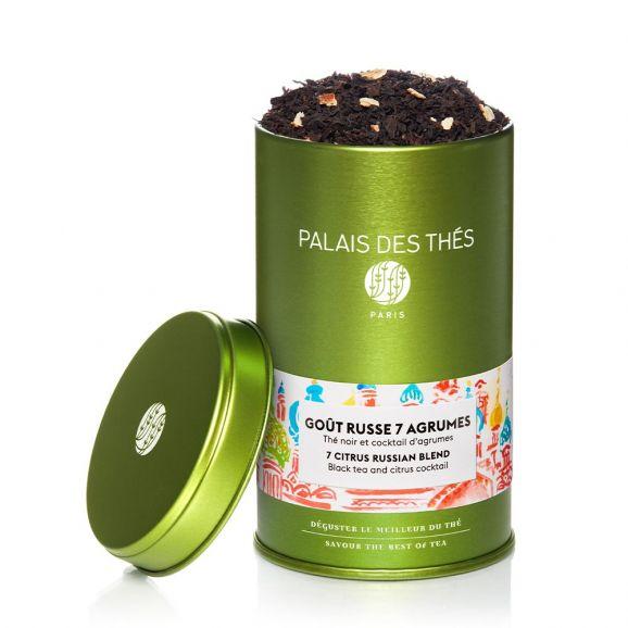Thé noir russe 7 agrumes, Palais des Thés (100 g)
