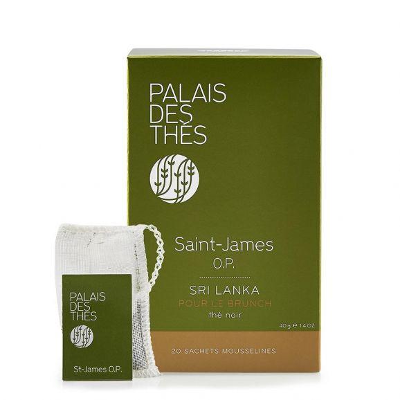Thé noir Saint-James, Palais des Thés (x 20)