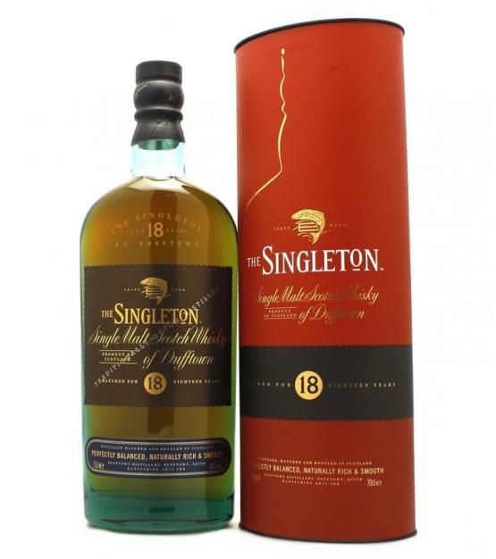Whisky Singleton 18 ans d'âge (70 cl)