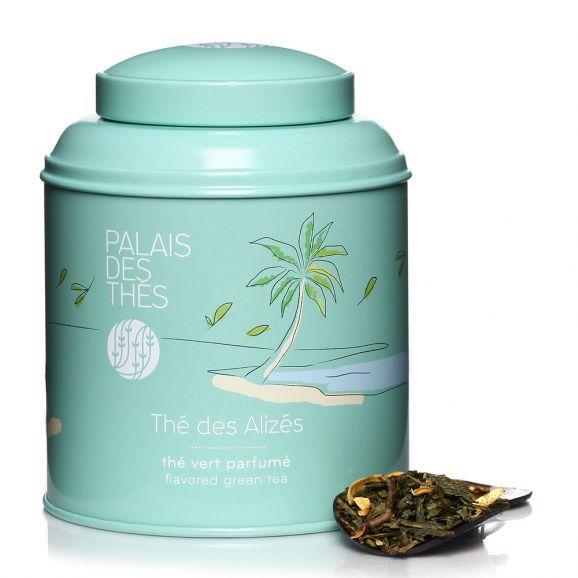Thé vert des Alizés - boîte colorée, Palais des Thés (100 g)