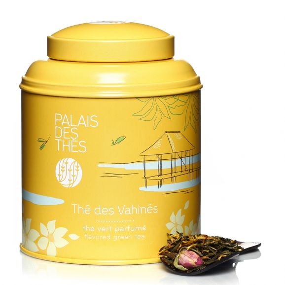 Thé vert des Vahinés - boîte colorée, Palais des Thés (100 g)