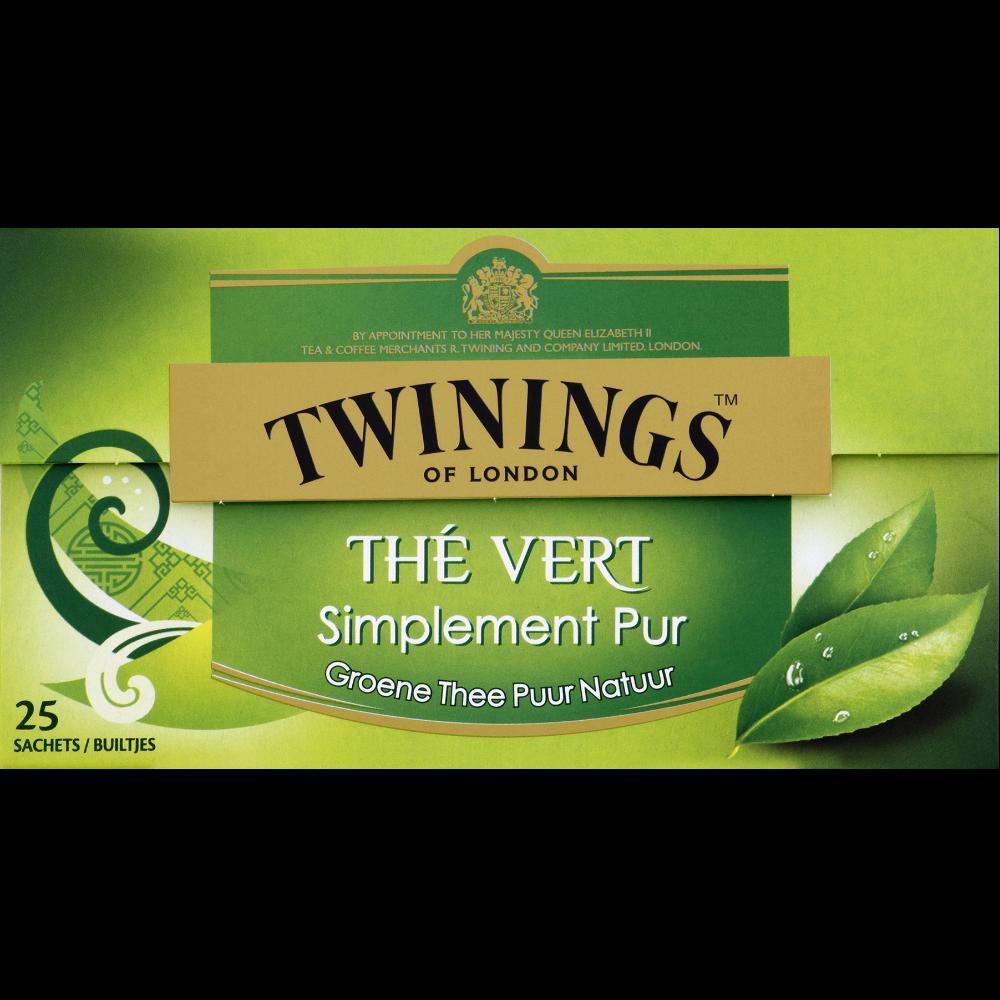 Thé vert nature, Twinnings (25 sachets)