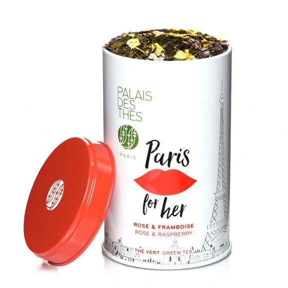 Thé vert Paris for her, Palais des Thés (100 g)